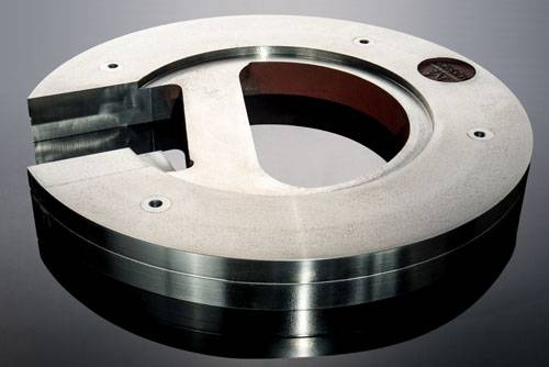 Grinding ball plate
