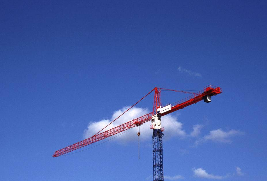 Safe Construction Tower Crane 48m Freestand 60m Jib Length