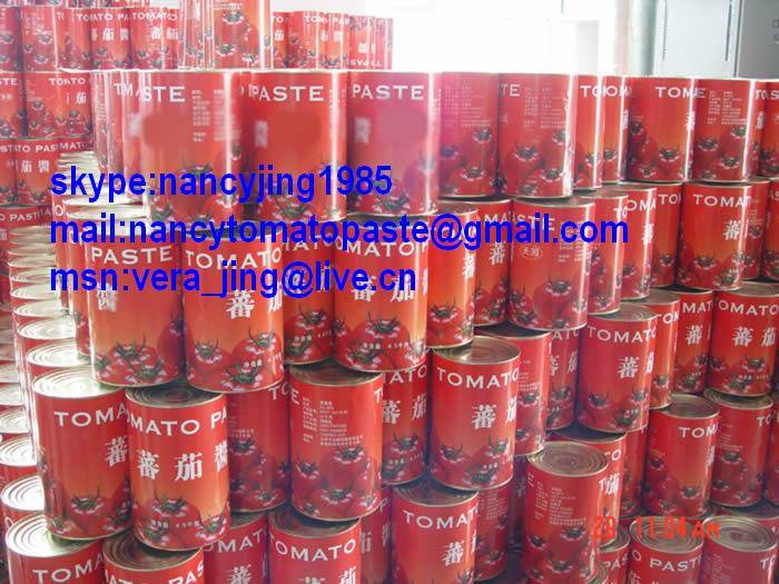 canned tomato paste/tomato sauce/tomato ketchup/tomato paste