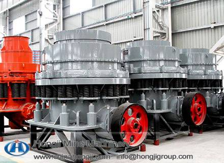 240-480t/h Hydraulic Cone Crusher with Economical