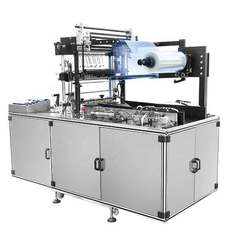 automatic cellophane packing machine for gift box