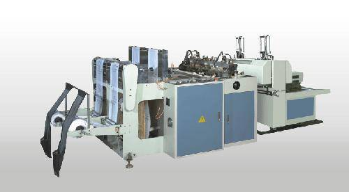 High-speed Double-channel Heat-sealing&Heat-cutting Bag-making Product Line
