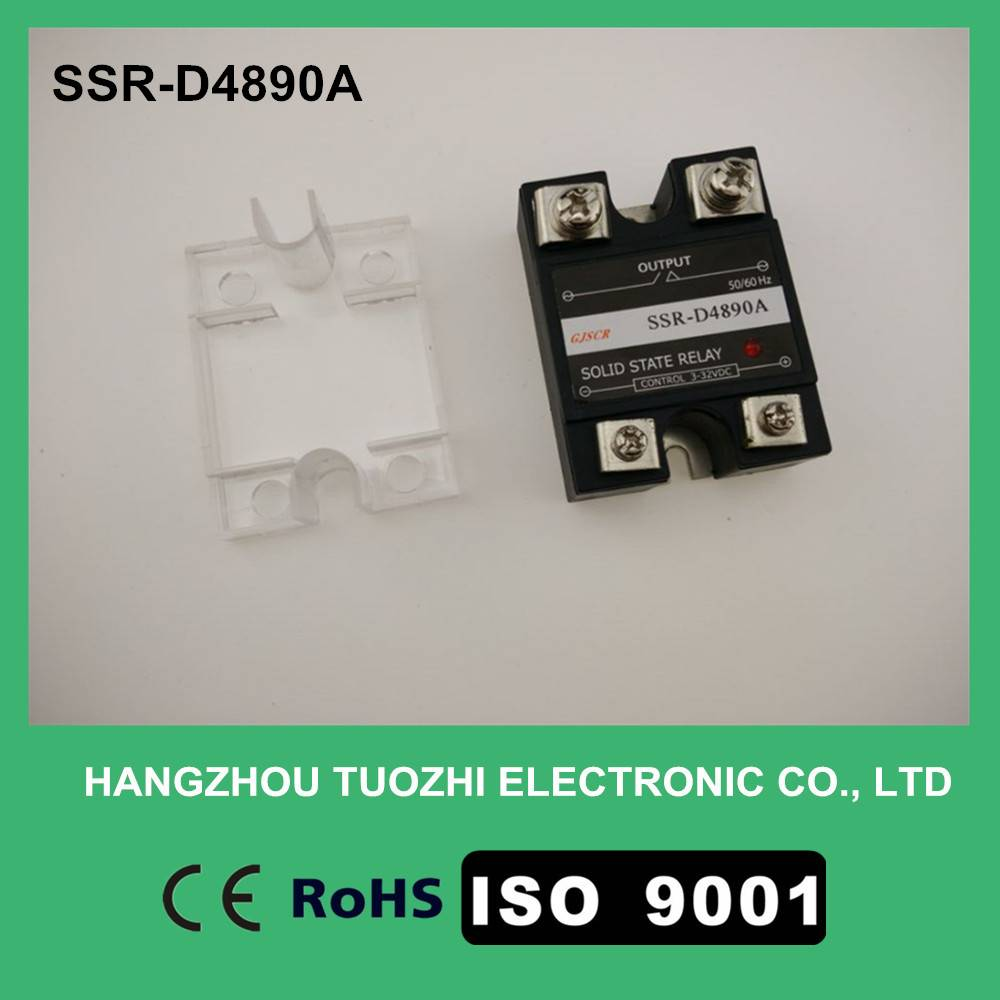 90a solid state relay single phase 3-32vdc input SSR-D4890A