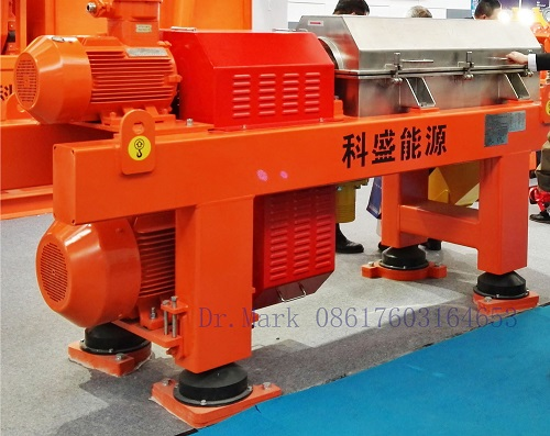 Decanter Centrifuge High Speed for Fluid Mud Separation China