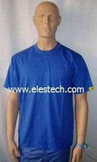 esd t-shirt, antistatic t-shirt, esd cotton t-shirt
