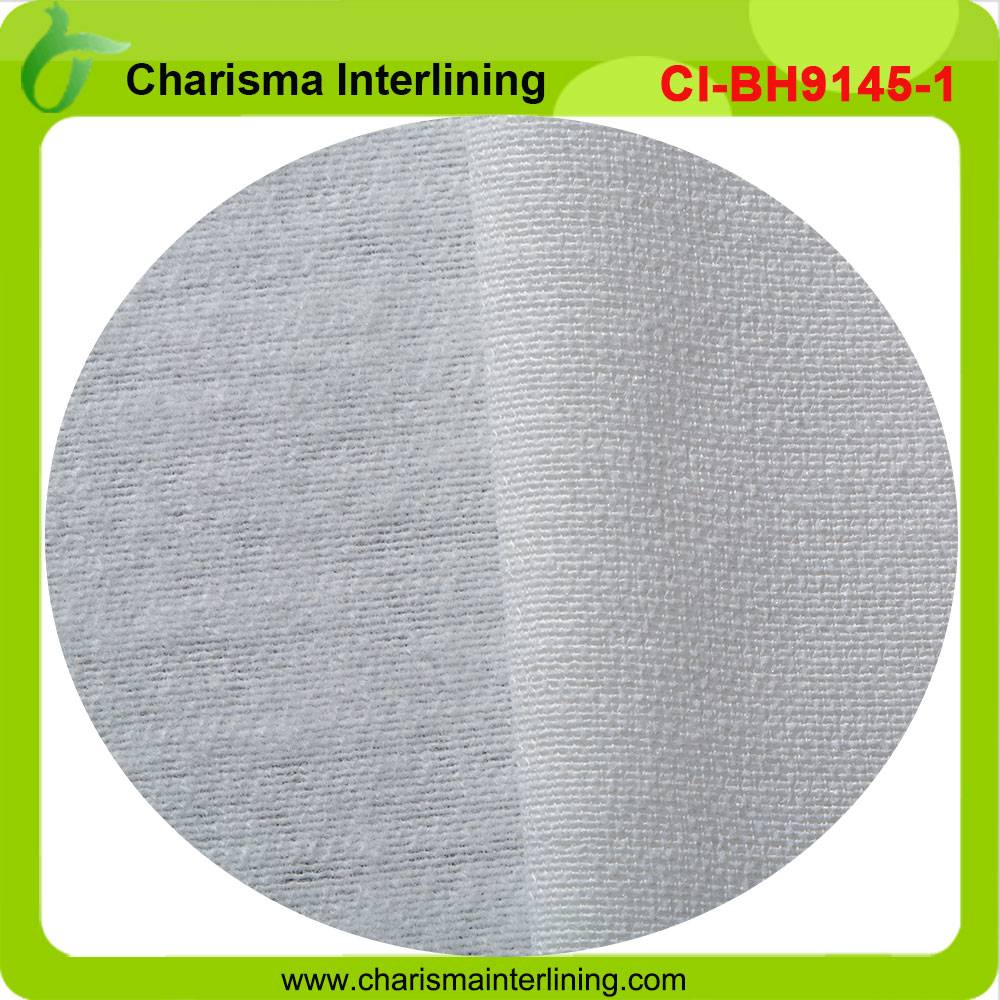 high quality woven interlining fabric