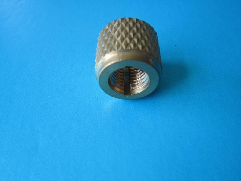 7/16 refrigerant brass hose fitting