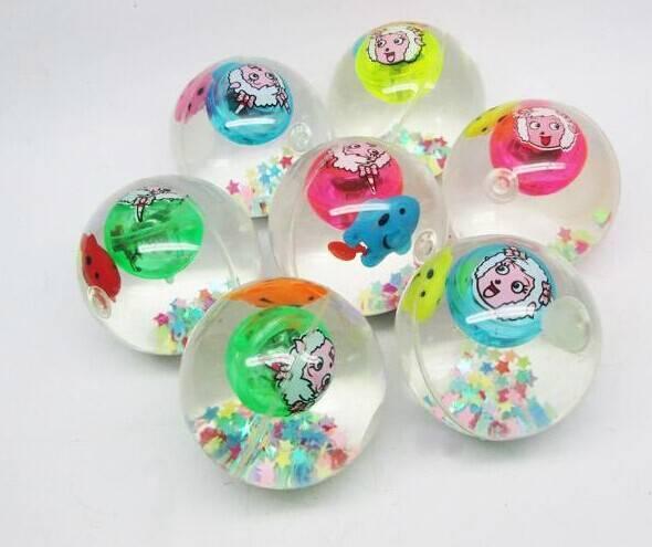sell flashing glitter water ball