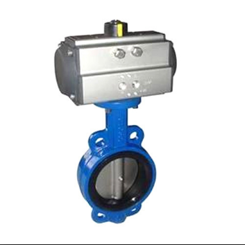 Pneumatic /electric butterfly valve