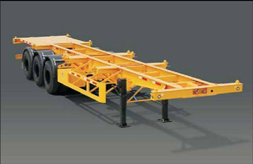Skeleton semi-trailer/container chassis