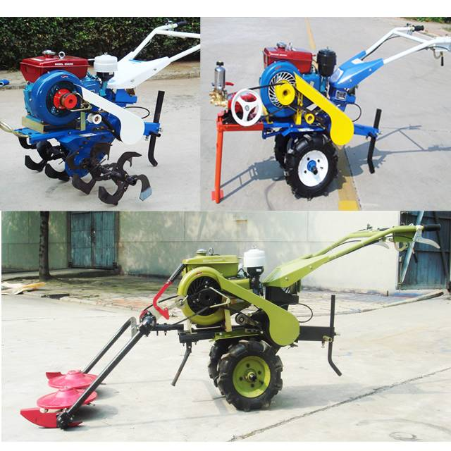 176S Power Tiller & Cultivator Farm and Garden Mini Tiller