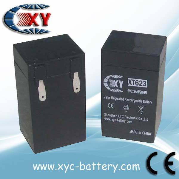 6V2.3AH VRLA battery