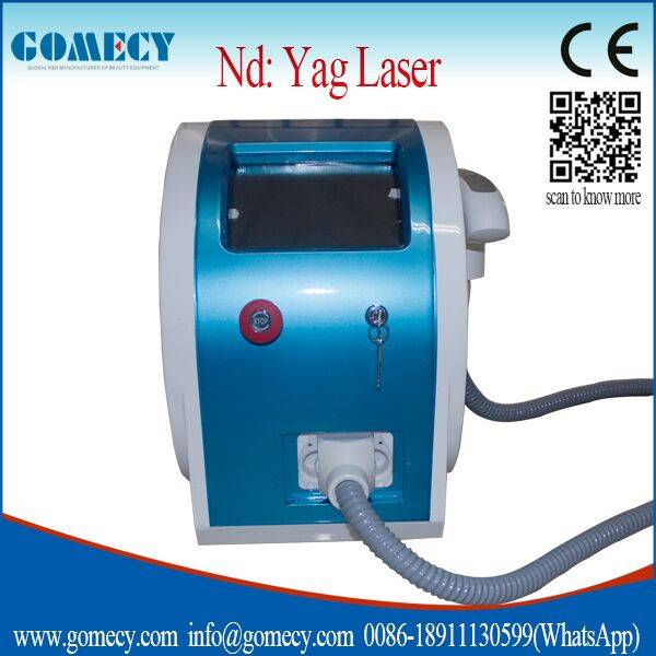 Q-Switch Nd Yag Laser Tattoo Removal System / q switch nd yag laser machine
