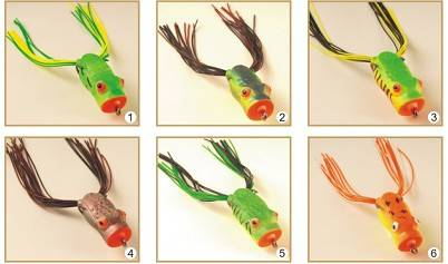 fishing lures soft lure frog lure fishing tackles