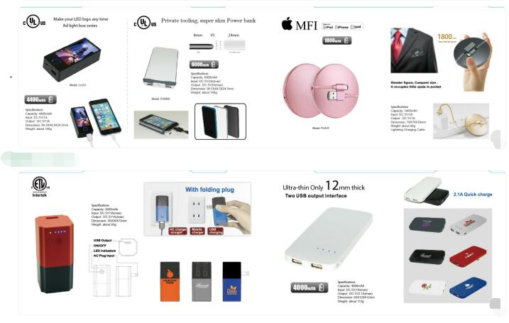 Power bank, Qi wireless charger, PD car charger, Power station, Smart plug, Multiling translator