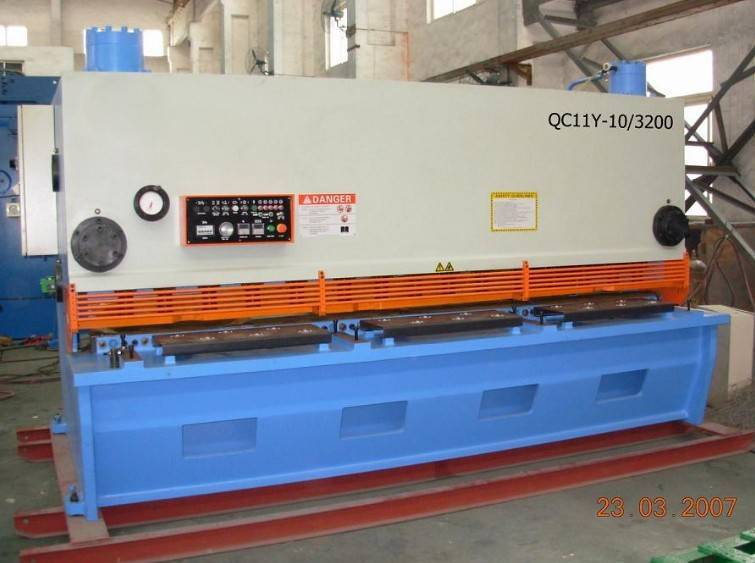 QC12Y-4x2500 Hydraulic Shearing Machine