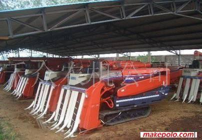 used Kubota combine harvester