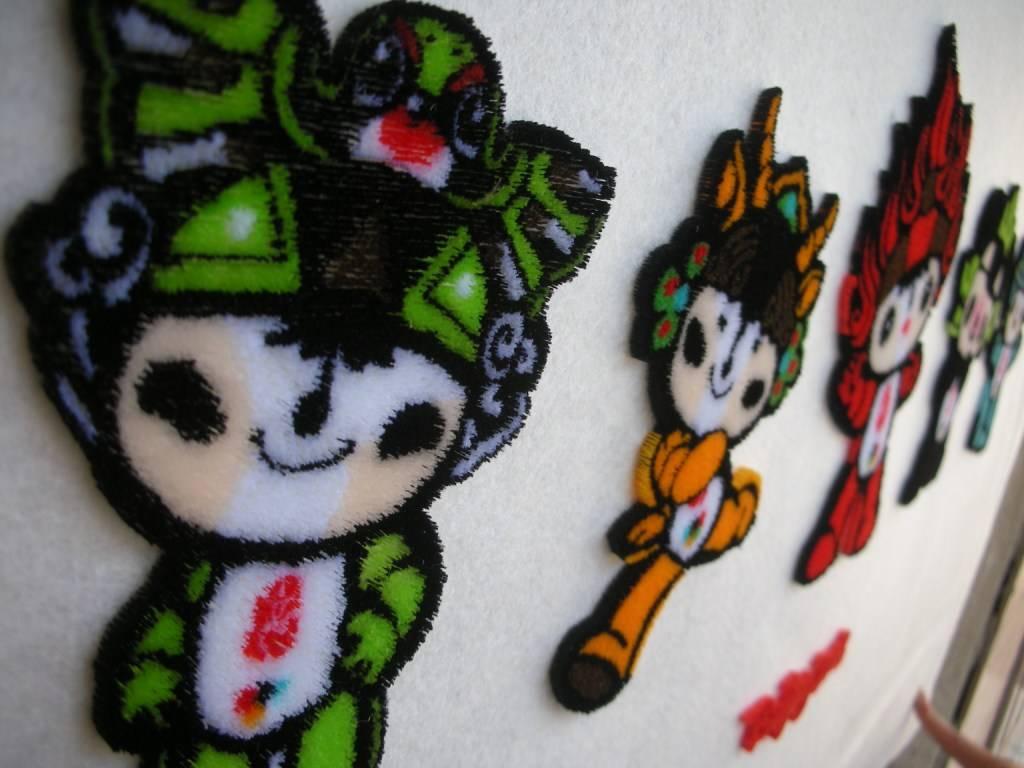 Tuft embroidery machine (multi-heads)