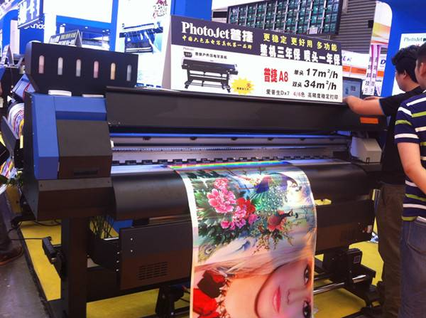 Agent price for Eco solvent printer digital for paper printing