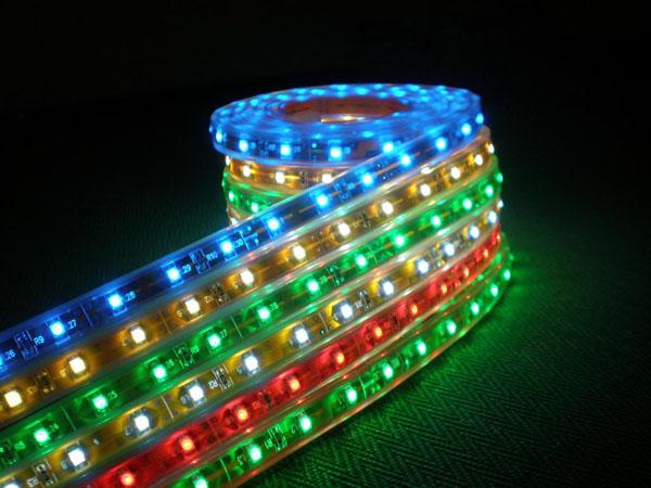 Jercio XT1511-RGB-p8(similar to WS2812) 60leds/pixels/m Flexible White PCB LED strip