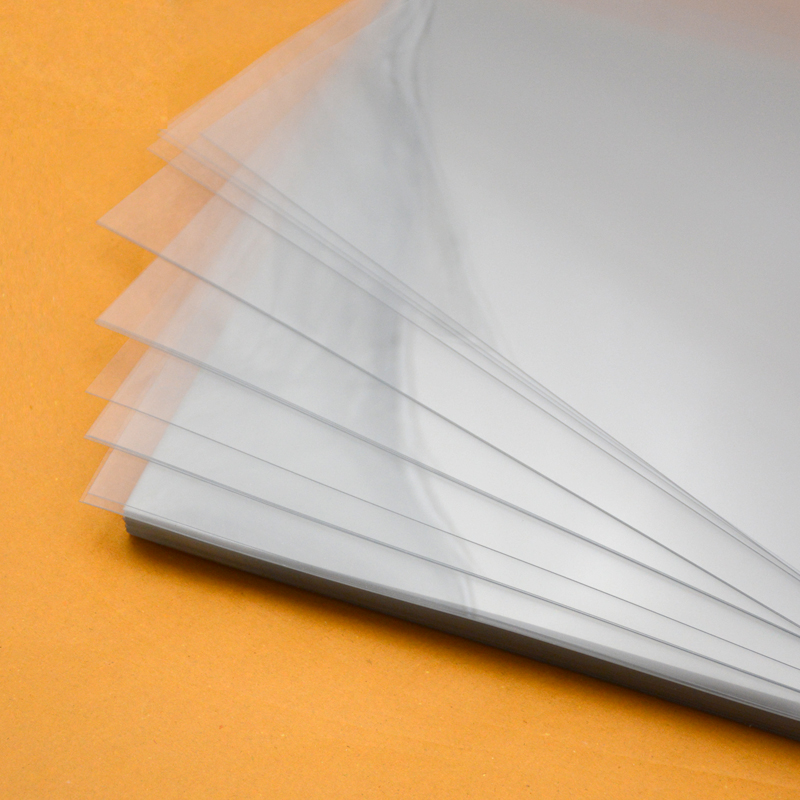 0.25mm Anti Scratch High Clear PET Rigid Sheet For Gift Boxes