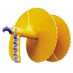 Single-head single screw auger bucket teeth
