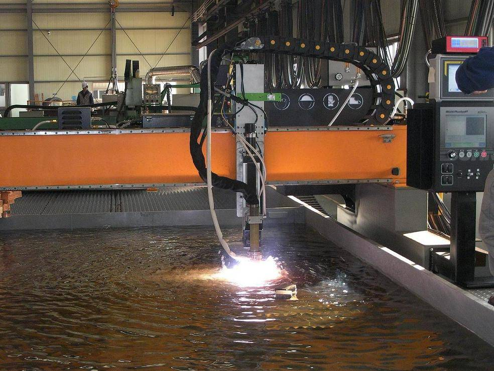 Sell CNC underwater cutting machine