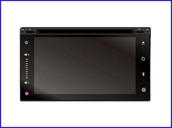 6.2 in touch button car dvd player/car navigation/car dvd play gps for universal series with BT/GPS/