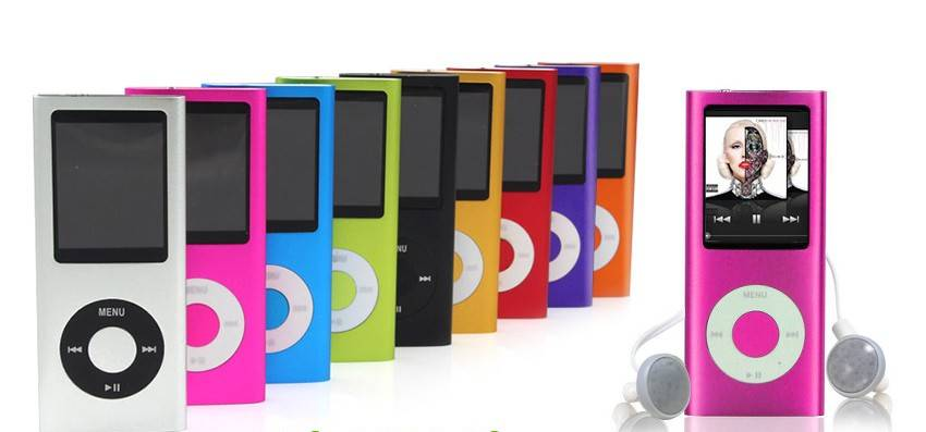 Slim 4th Gen 16GB MP3 MP4 Music Player Inquire now