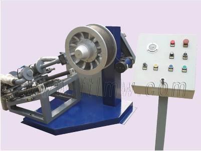 Sidewall brushing machine