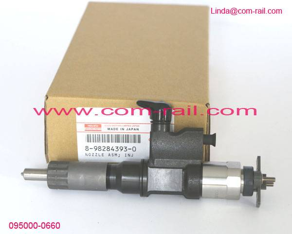 R61540080101 injector 095000-0660 8-98284393-0 8982843930,denso original,new R615400880101