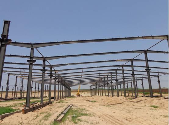 steel structure, steel roof truss