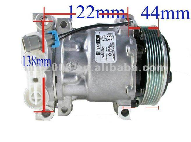 SD7H15 4440 Replacement For GM HT6 Compressor For Cadillac Escalde, Chevy Blaze