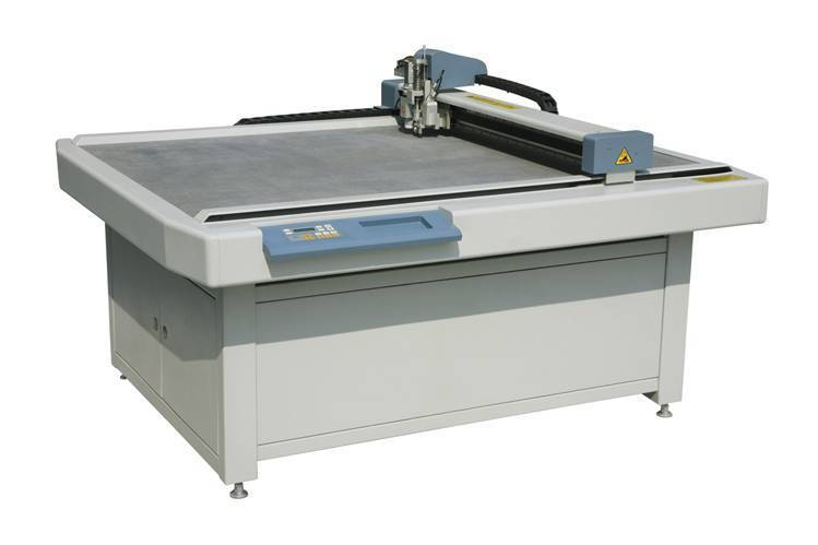 Automatic carton sample cutting table