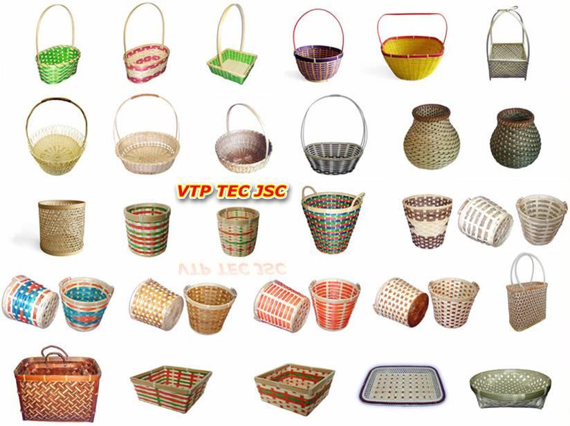 vietnam bamboo basket, rattan basket, bamboo box, bamboo fences, bamboo fencing, bamboo poles