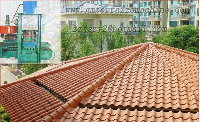 The best Roof tile machine manufacturers in china