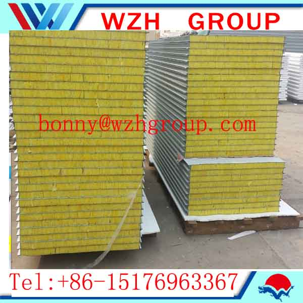 composite rockwool panel roofing sheets