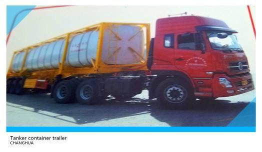 45700L Tanker container for Pentane transportation