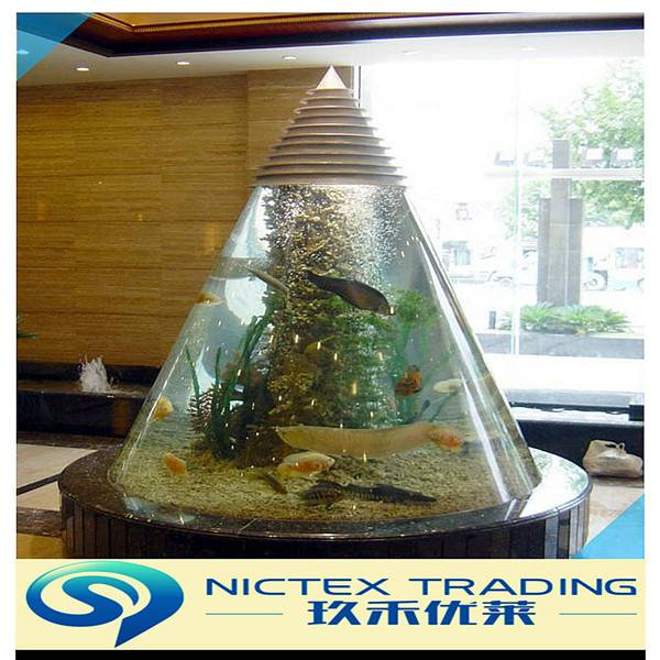 large acrylic fish tank , customized clear plastic acrylic aquarium fish tank