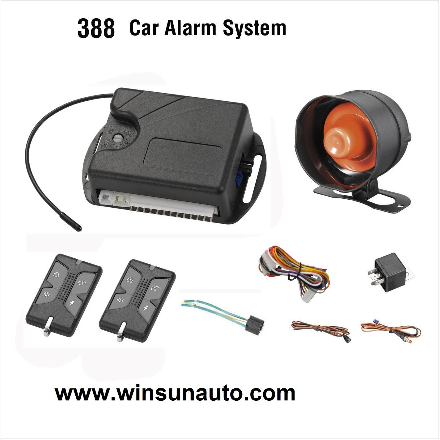 Full function car alarm with lowest price