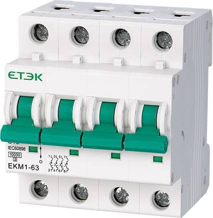 Mini Circuit Breaker (EKM1-63) 10KA