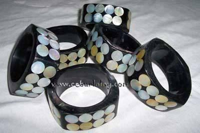 Bangle Bracelets [wood / shell] Cebu City Philippines