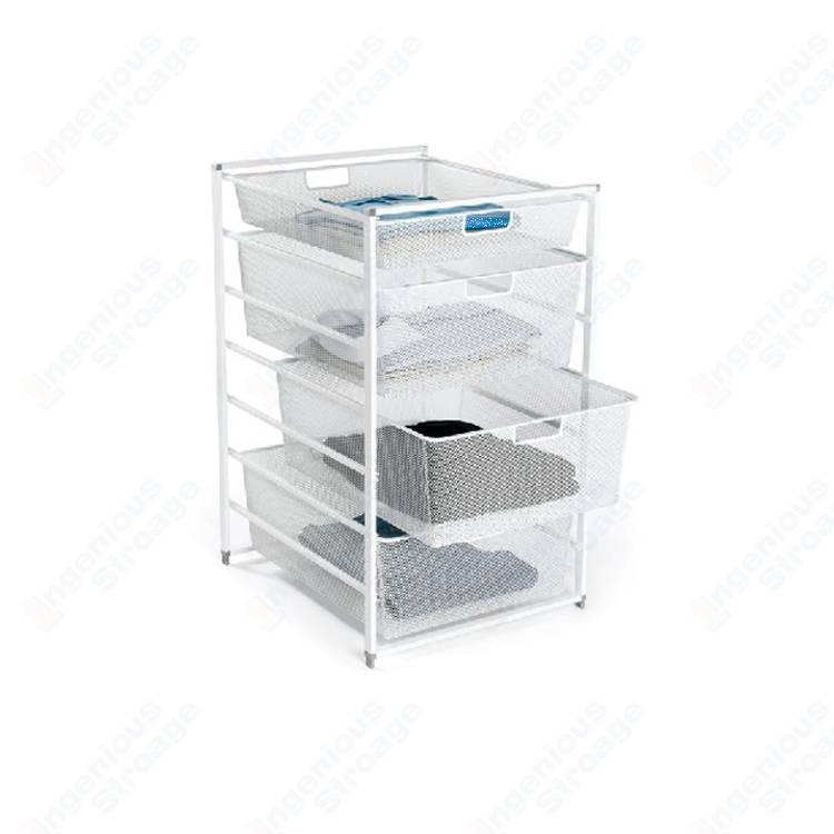 Mesh Basket Storage Drawer System