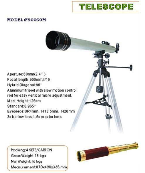 telescope and spotting scope