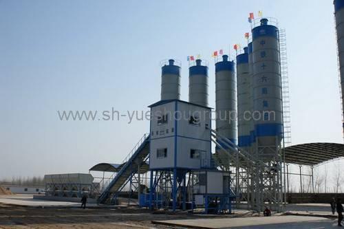 Concrete Batch Mixing Plant Hzs120 (Productivity: 120m³ /H)
