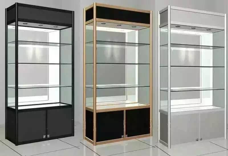 aliuminium shelf/glass shelf/display shelves