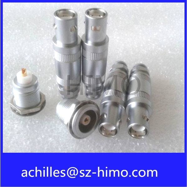 push pull lemo 00 single core coaxial connector