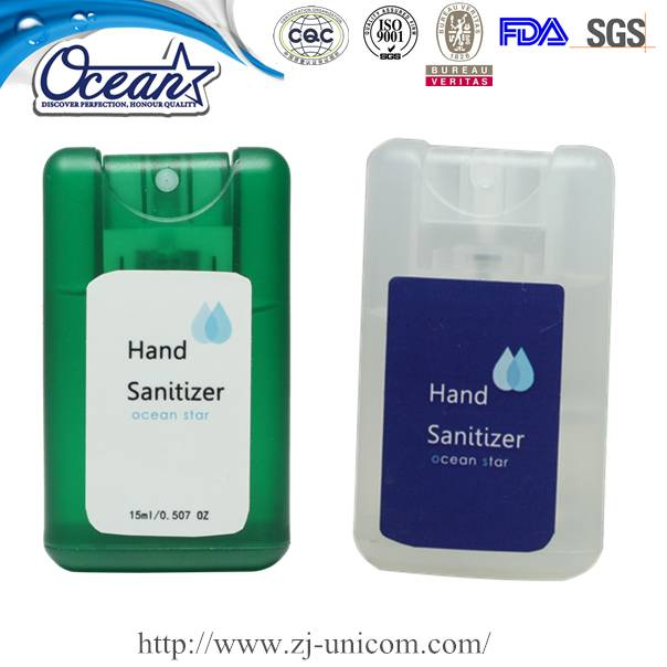 credit card hand sanitizer