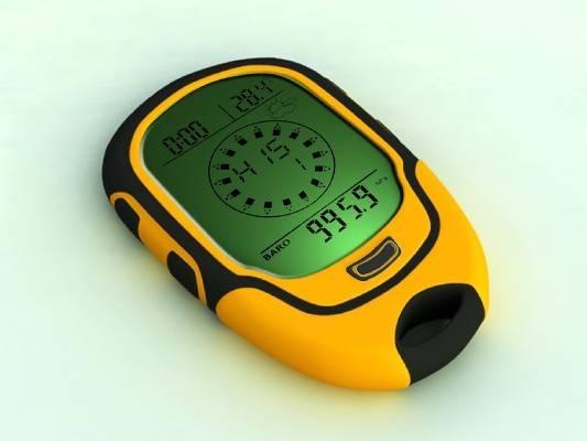 Multifunction Digital Altimeter & Compass