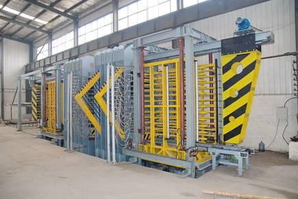 wood-plastic board hot press machines